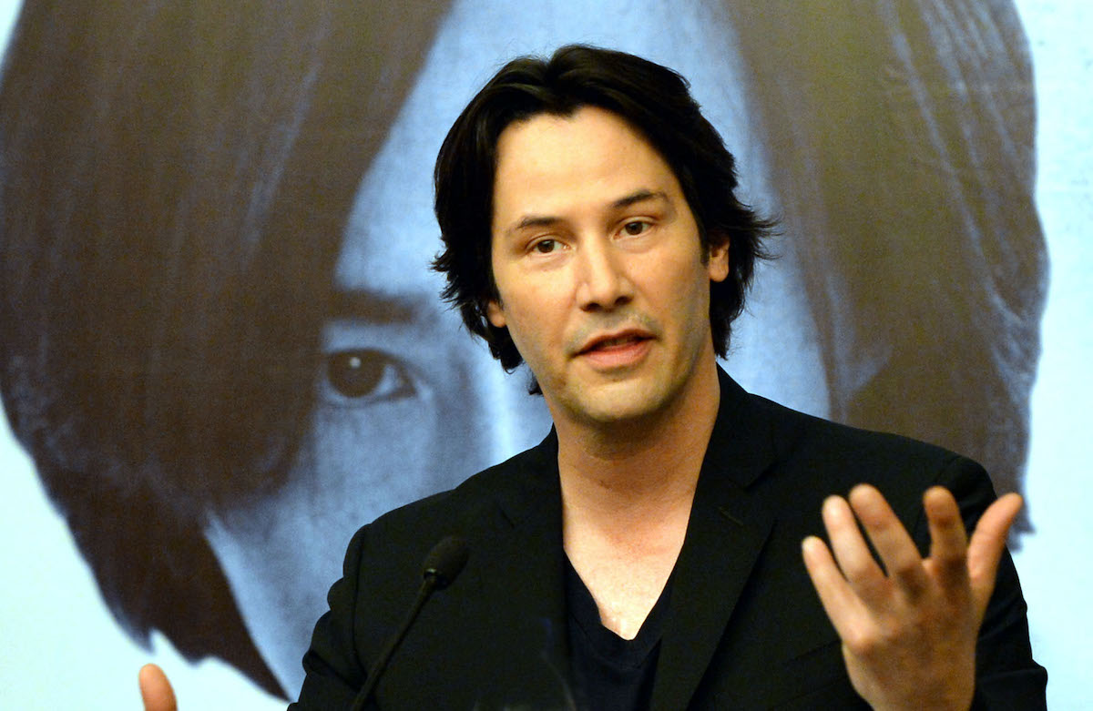 Keanu Reeves attends 'Man of Tai Chi' press conference
