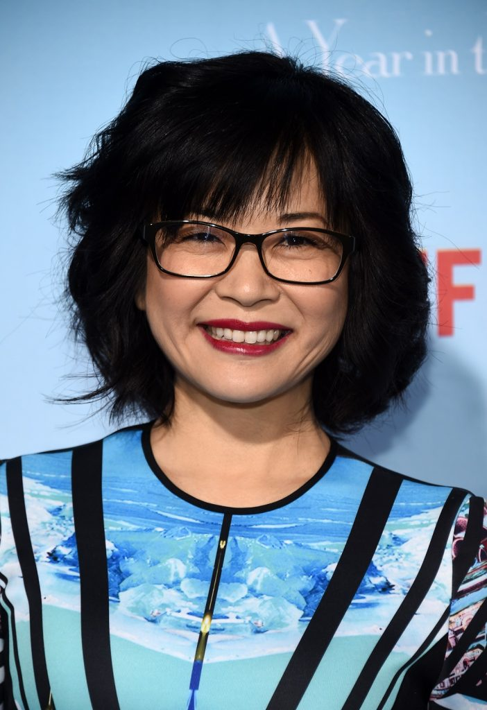 Keiko Agena arrives at the premiere of Netflix's 'Gilmore Girls: A Year In The Life' at the Regency Bruin Theatre