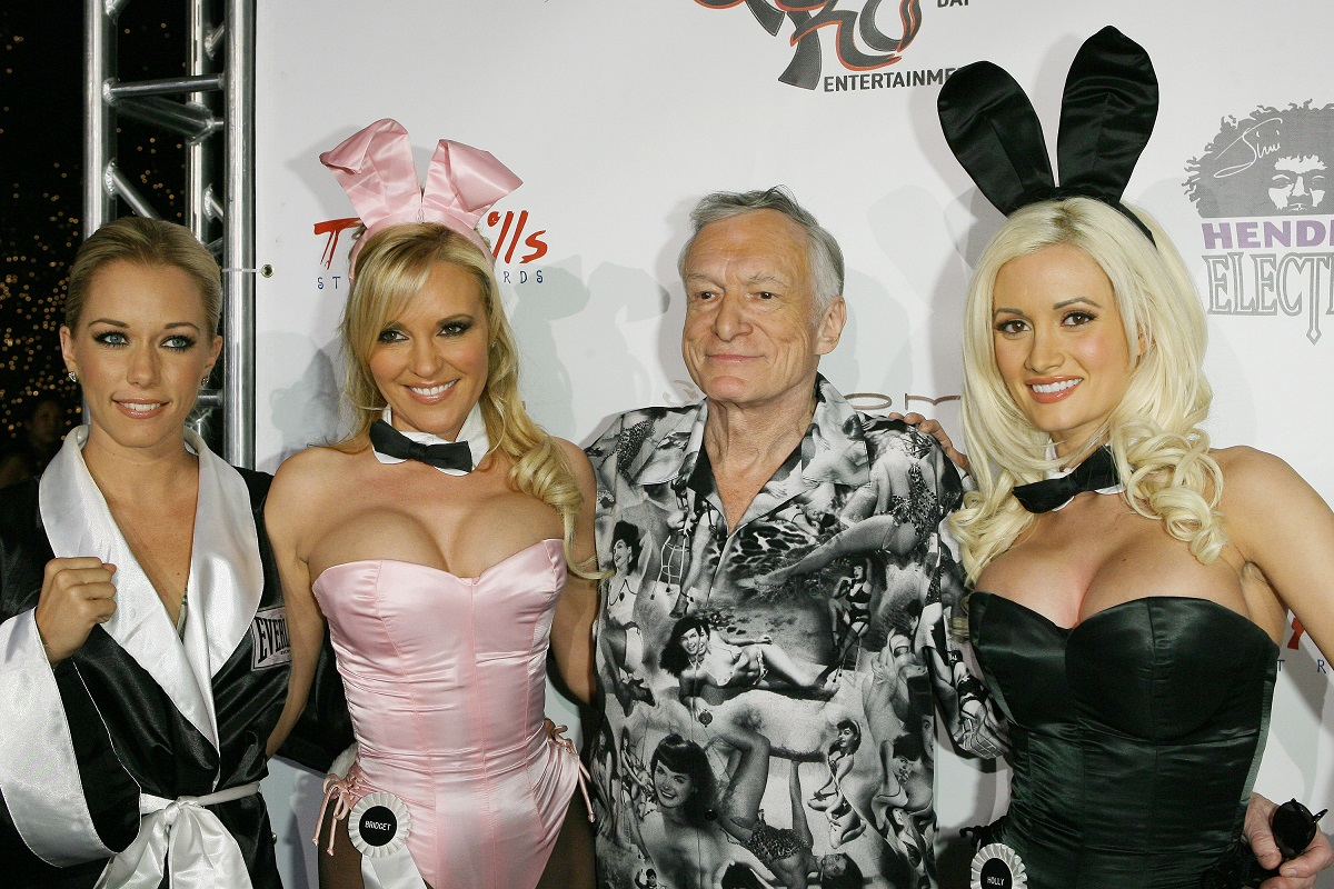 Holly Madison Once Revealed The Real Reason She Asked To Move In With Hugh Hefner And It Had To Do With His Bedtime Routine