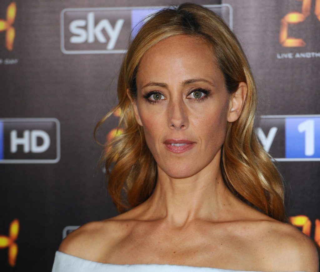 Close-up of 'Grey's Anatomy' star Kim Raver attends the UK premiere of '24: Live Another Day' at Old Billingsgate Market