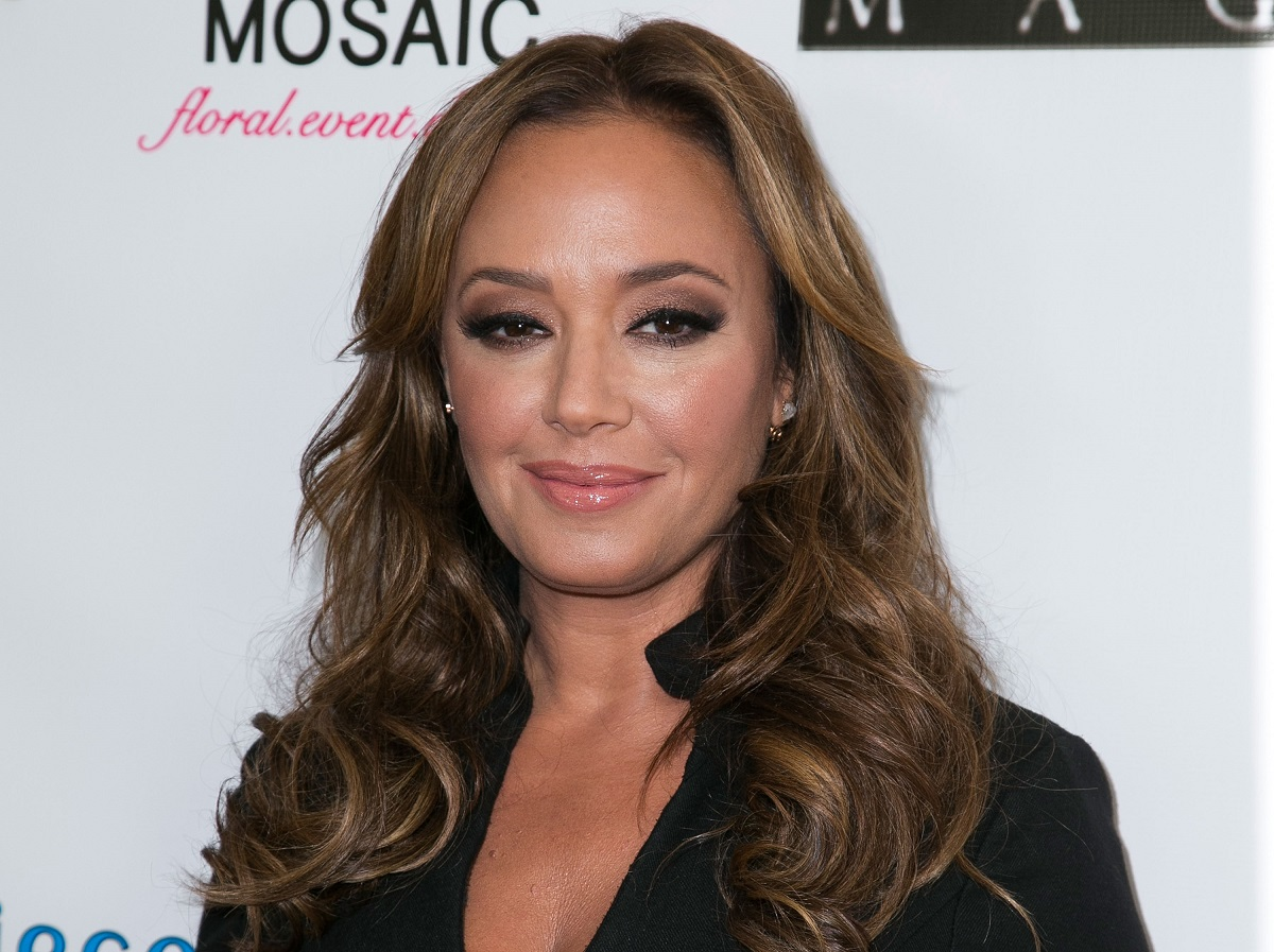 Leah Remini on the red carpet in 2015