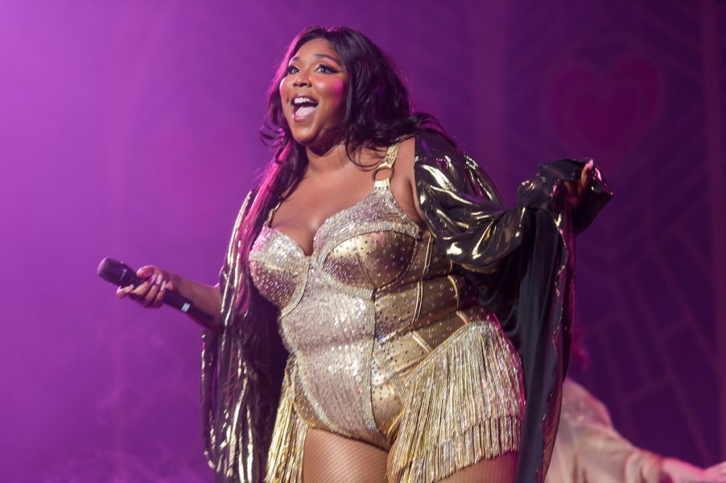 Lizzo performs during her 'Cuz I Love You Too Tour' at Radio City Music Hall