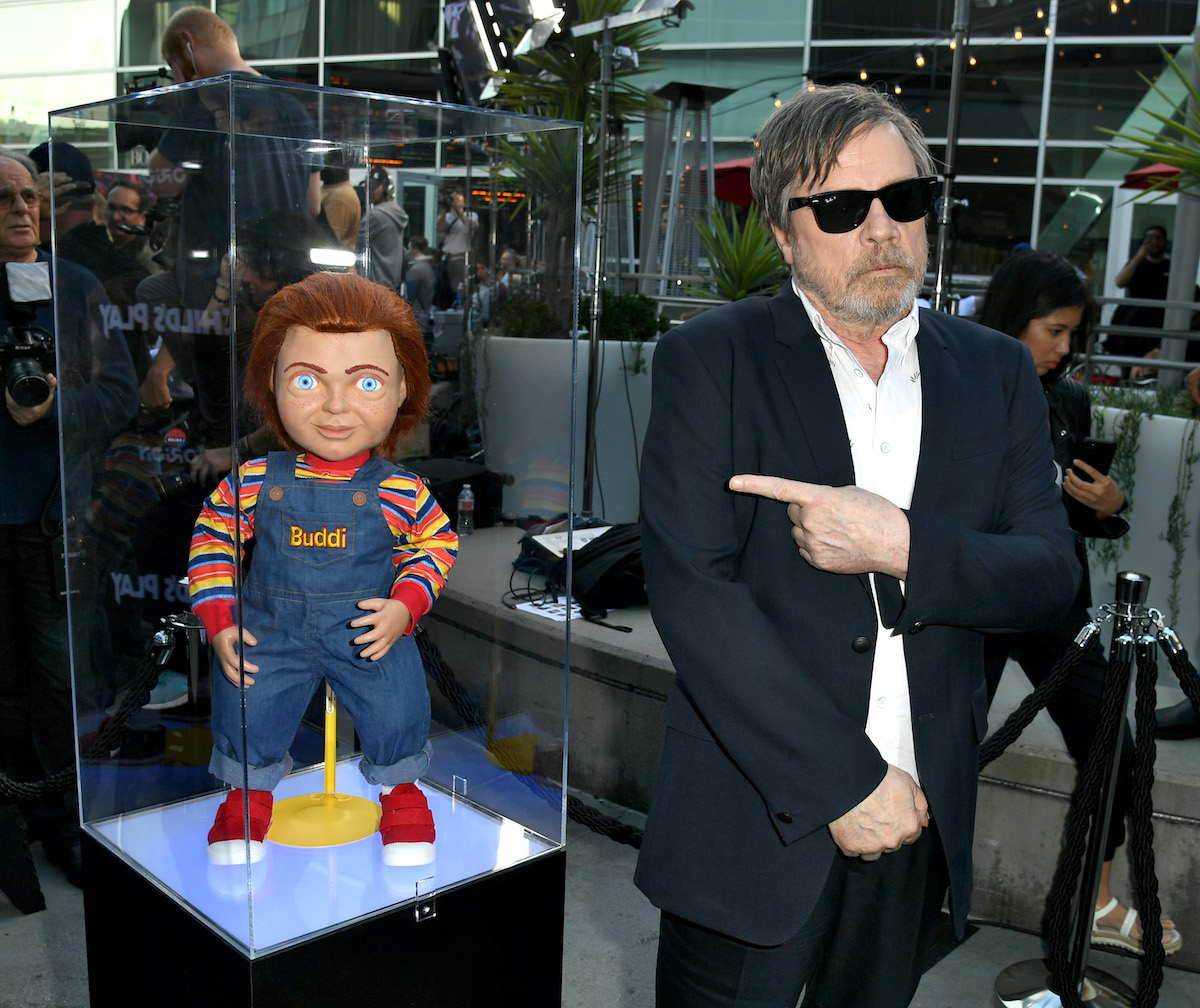 Mark Hamill at the premiere of 'Child's Play' in 2019