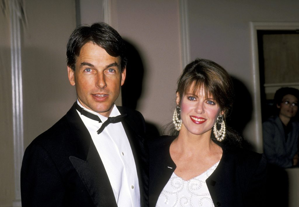 Mark Harmon and Pam Dawber   Ron Galella/Ron Galella Collection via Getty Images