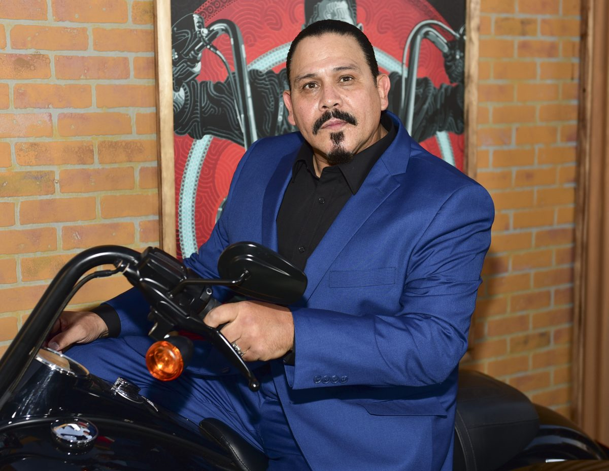 "Emilio Rivera arrives at the premiere of FX's ""Mayans M.C."" at TCL Chinese Theatre on August 28, 2018"