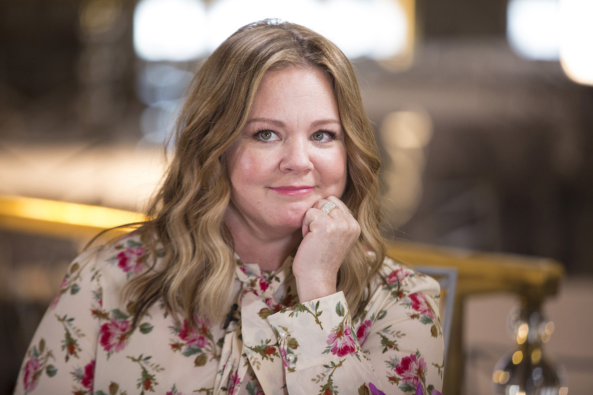 Melissa McCarthy at 'Sunday Today with Willie Geist.'