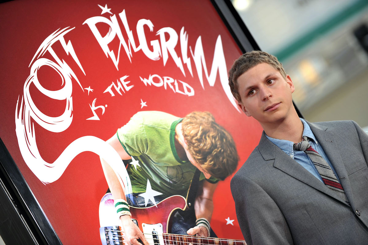 Michael Cera at the 'Scott Pilgrim Vs. The World' premiere