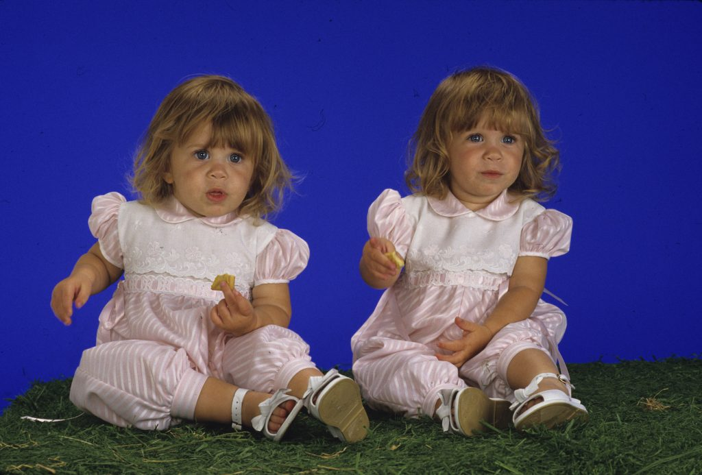The Olsen twins of the sitcom, 'Full House'