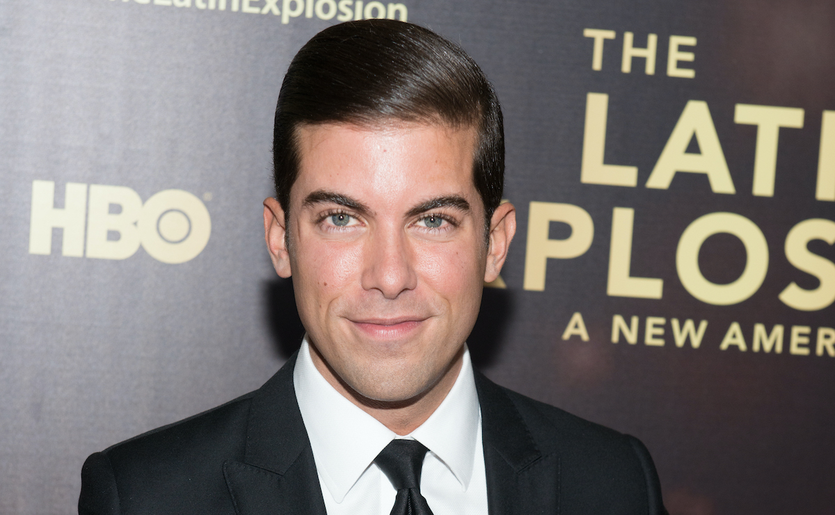 Luis D. Ortiz attends 'The Latin Explosion: A New America' New York premiere in 2015