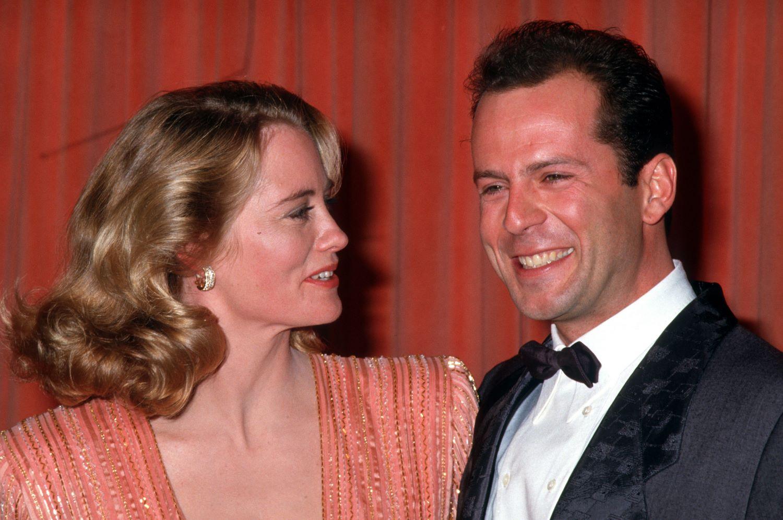 'Moonlighting' stars Cybil Shepherd and Bruce Willis