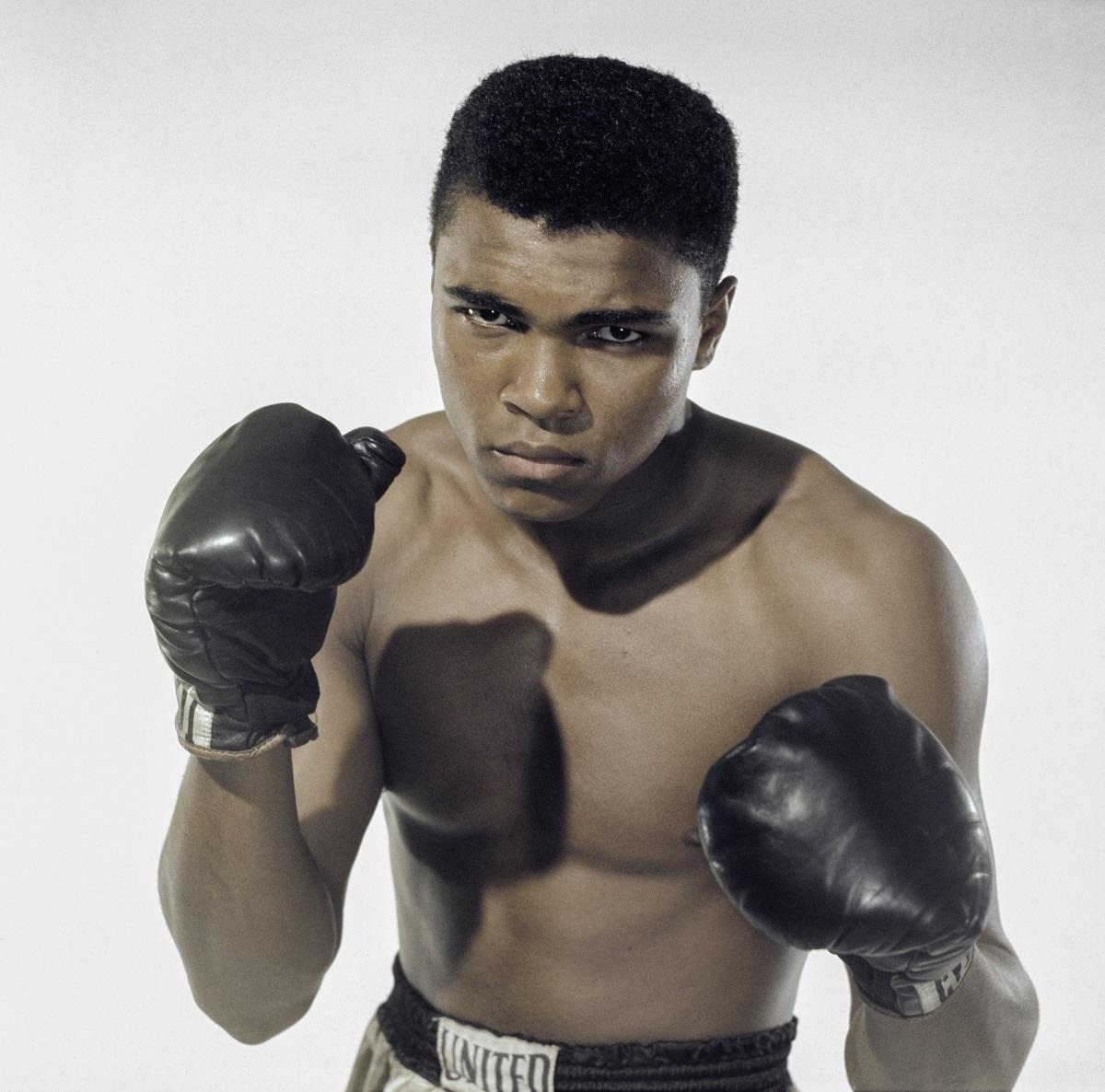 Portrait of Muhammad Ali in 1962