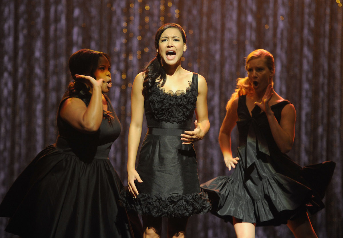 'Glee' stars Amber Riley, Naya Rivera, and Heather Morris