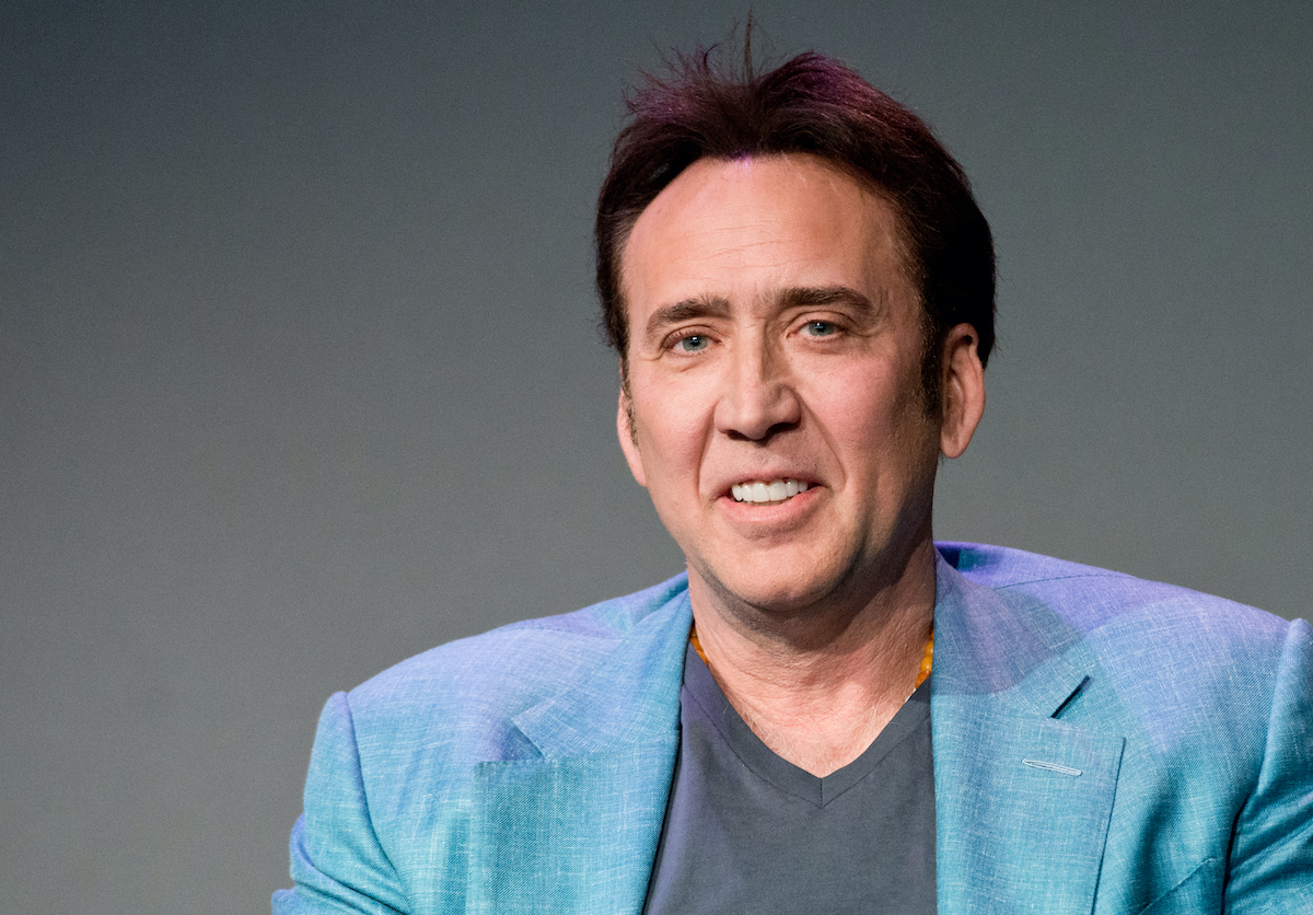 Nicolas Cage attends Meet the Filmmakers