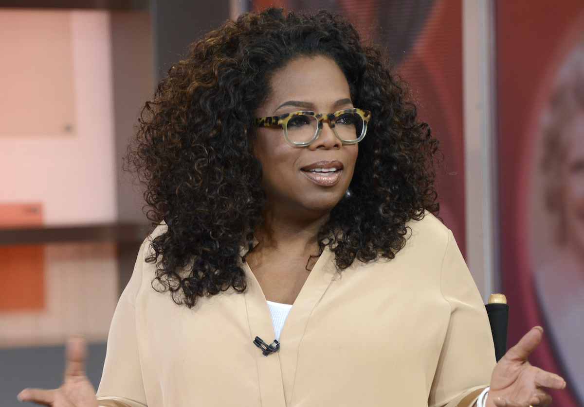Oprah Winfrey visits Good Morning America