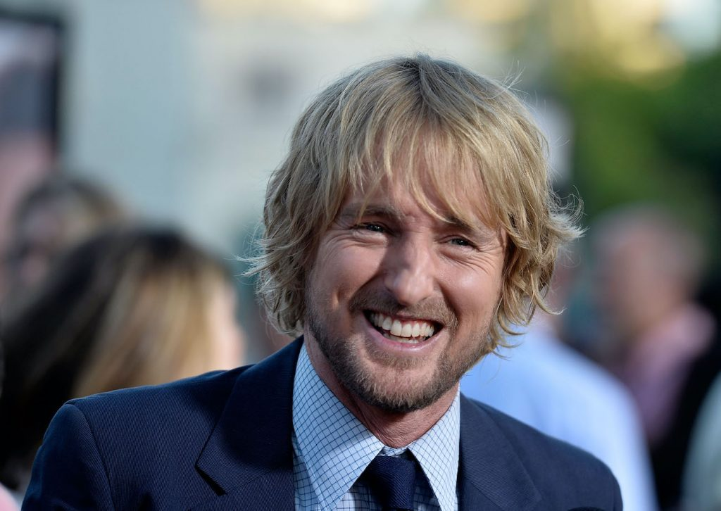 Owen Wilson smiling headshot