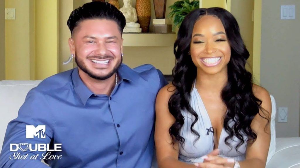 Pauly D and his girlfriend Nikki Hall from 'Double Shot at Love'