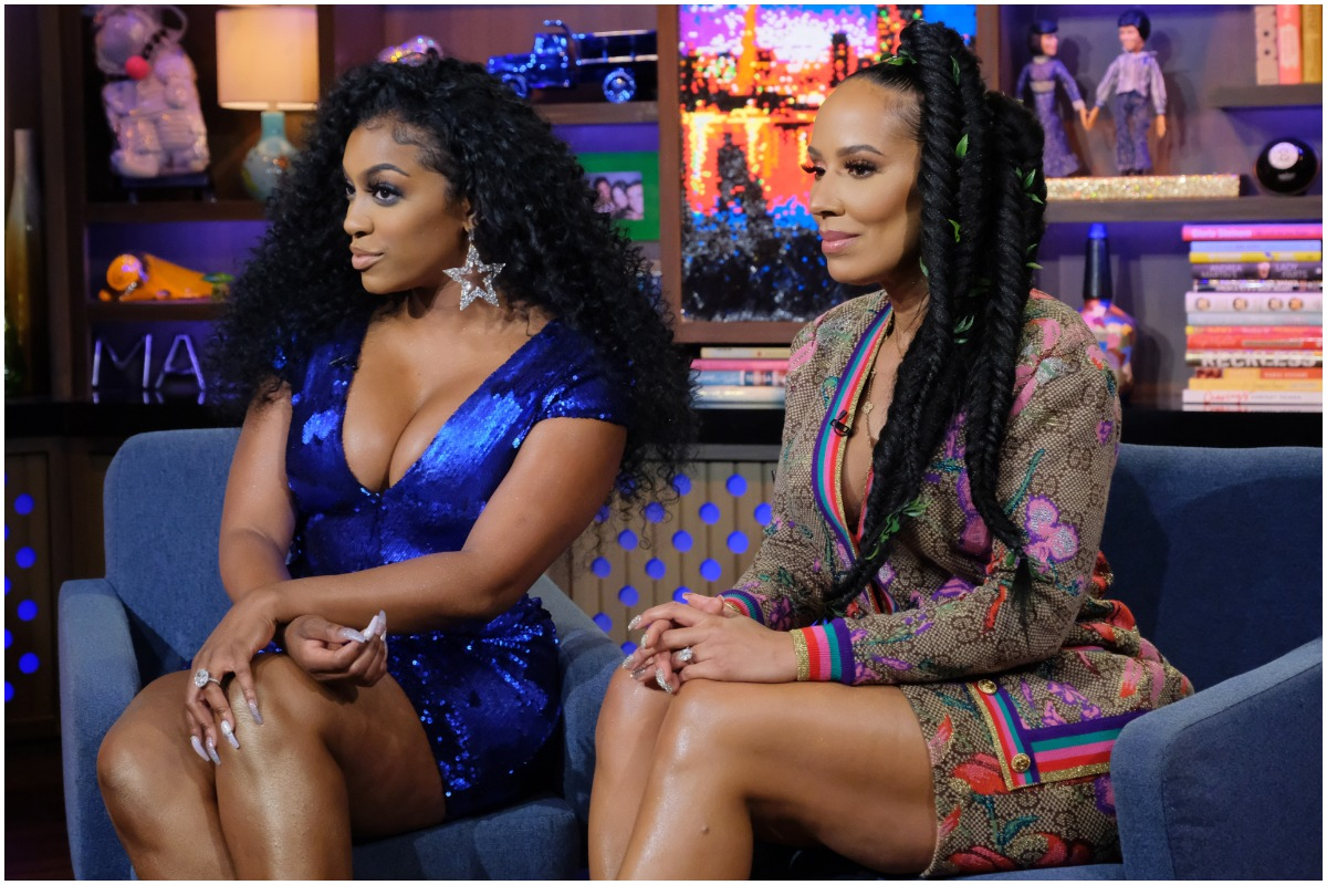 'The Real Housewives of Atlanta' stars stars Porsha Williams and Tanya Sam on Bravo's 'Watch What Happens Live'