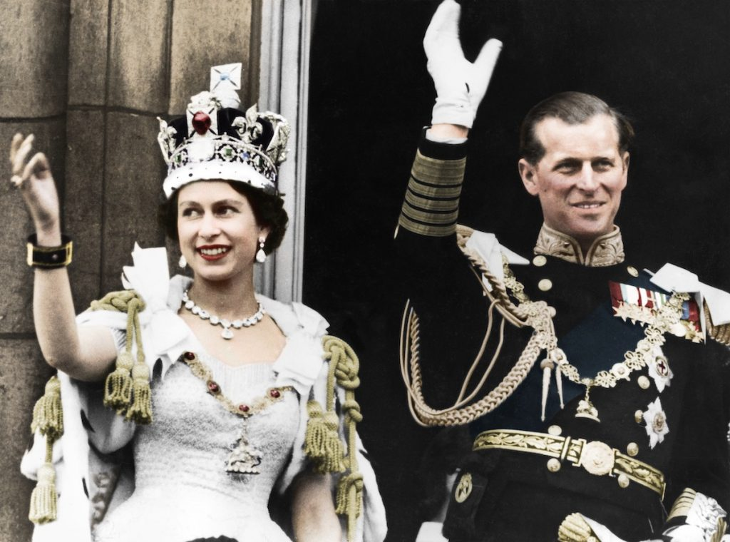 Queen Elizabeth wore a $200,000 necklace on her Coronation day in 1953.