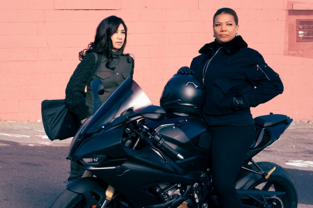 Queen Latifah with Liza Lapira on The Equalizer   Barbara Nitke/CBS via Getty Images