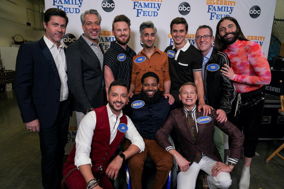 'Queer Eye: OG vs. Queer Eye: New Class': OG Queer Eye team, led by Carson Kressley, playing against the new class members from Netflix's hit show 'Queer Eye,' led by Bobby Berk