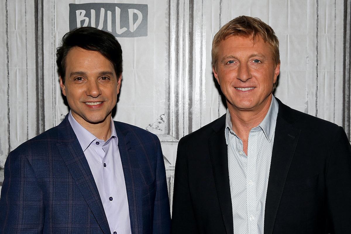'Cobra Kai' stars Ralph Macchio and William Zabka at the Build Series