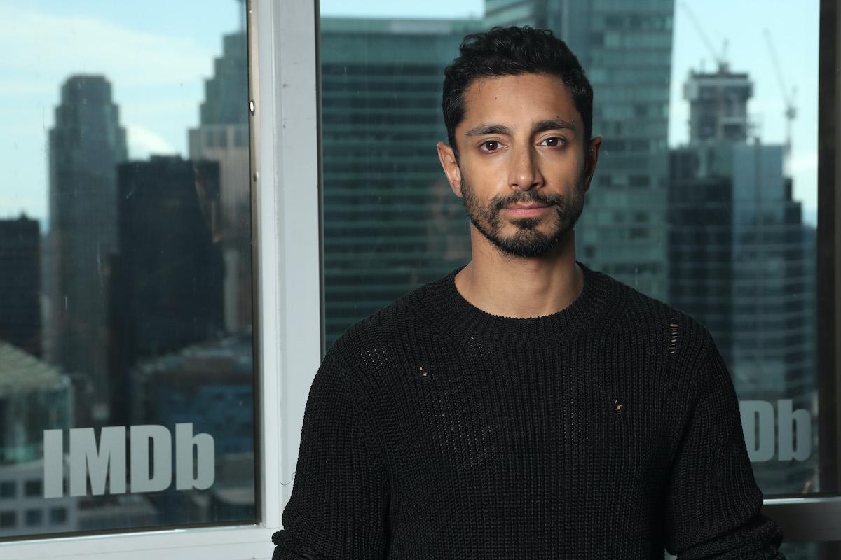 'Sound of Metal' star Riz Ahmed at The IMDb Studio