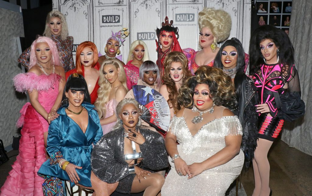 The queens of 'RuPaul's Drag Race' season 11, including Brooke Lynn Hytes, 'Miss Vanjie,' and Yvie Oddl