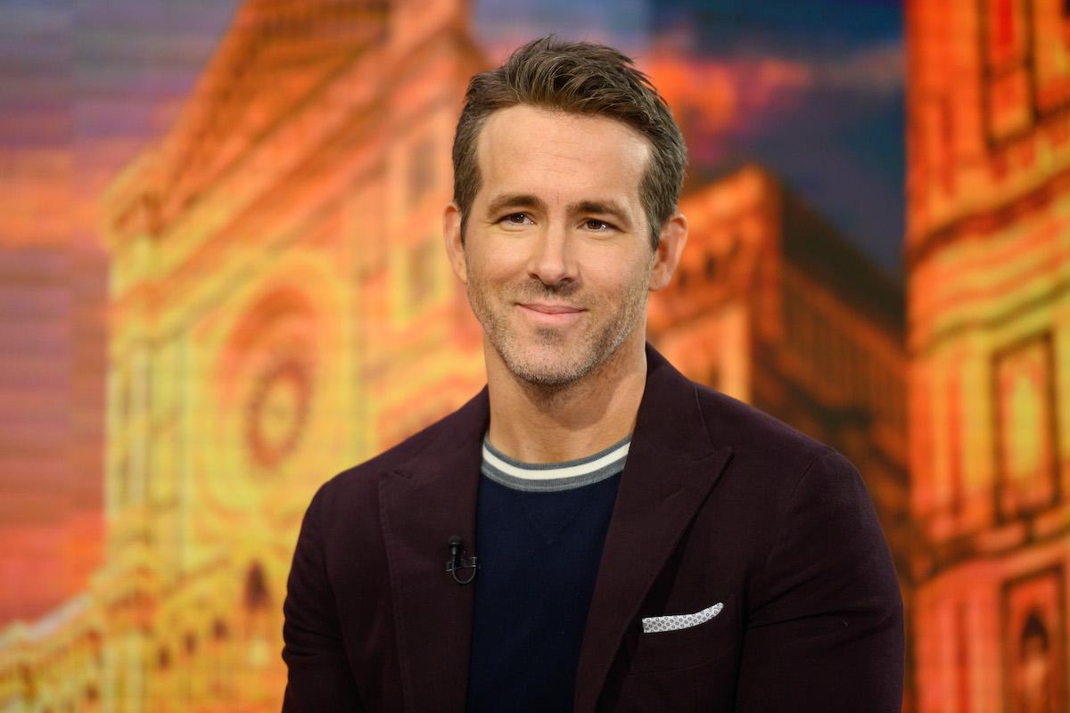 Ryan Reynolds on 'Today' in 2019