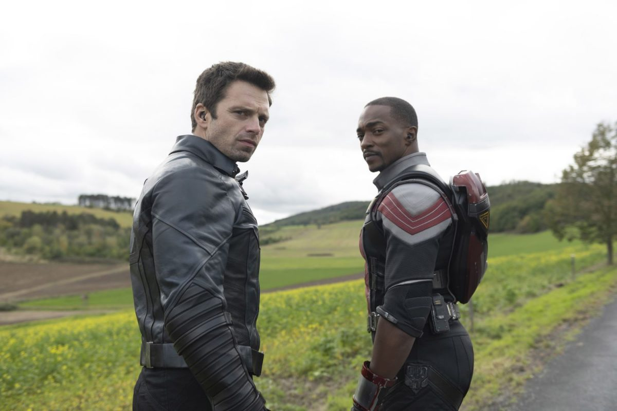 Sebastian Stan and Anthony Mackie in 'The Falcon and the Winter Soldier'