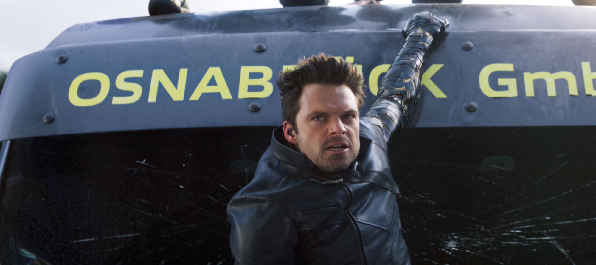 Sebastian Stan in 'The Falcon and the Winter Soldier'