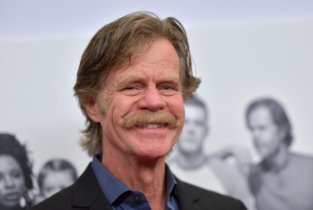 Actor William H. Macy arrives for the Showtime series 'Shameless'