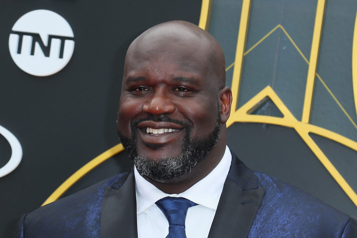 Shaquille O'Neal at the 2019 NBA Awards