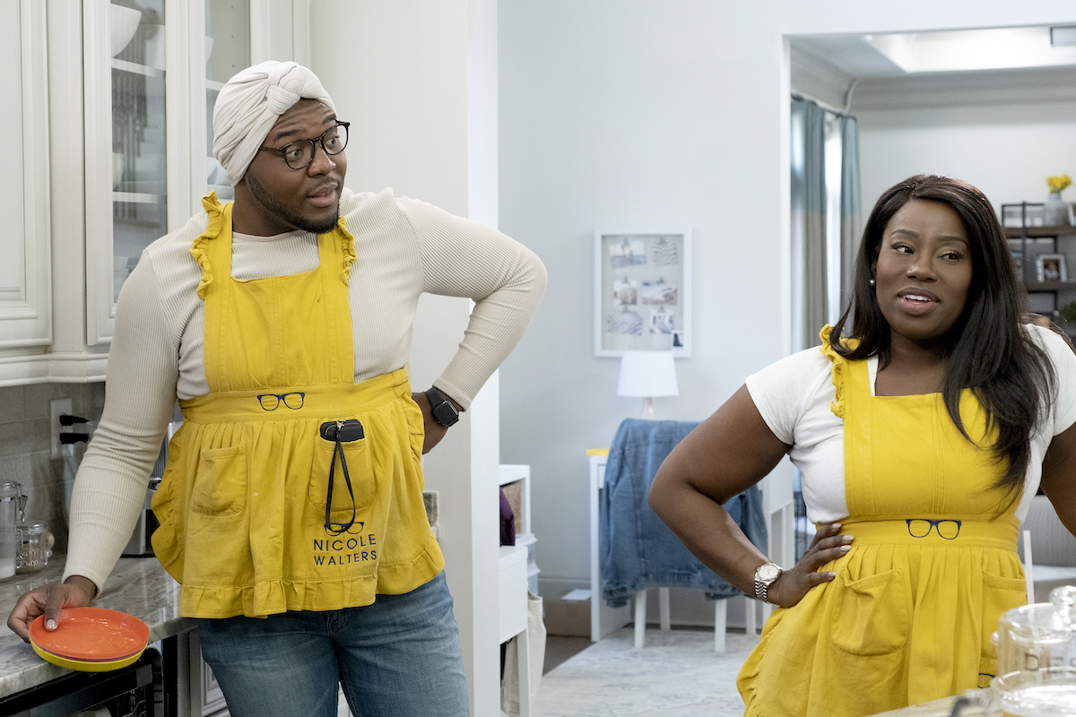 Eddie Bernardez, Nicole Walters get ready to cook on 'She's the Boss'