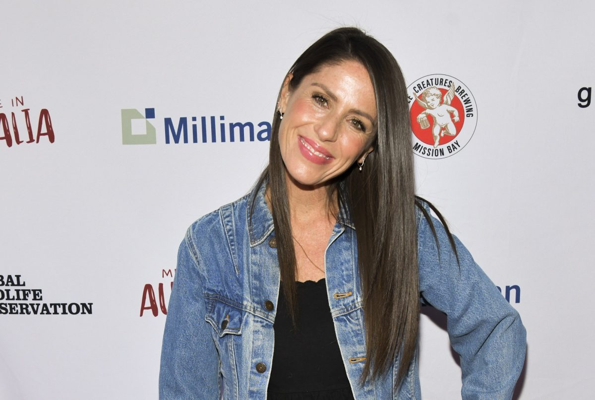 Soleil Moon Frye on the red carpet