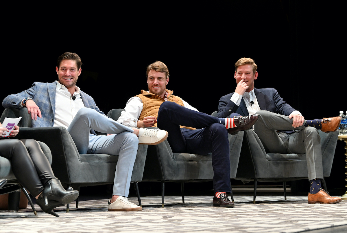 Craig Conover, Shep Rose and Austen Kroll at BravoCon