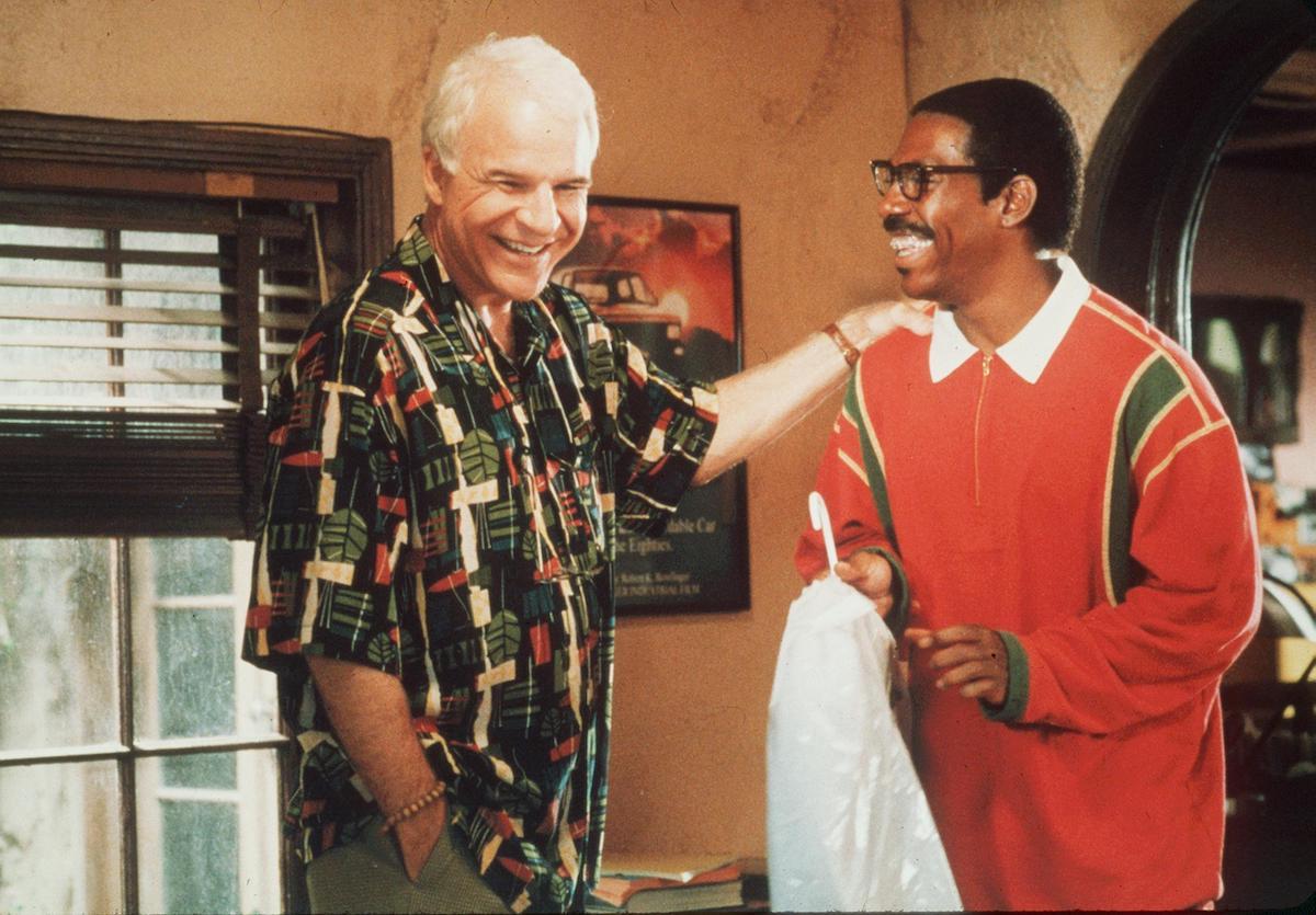 Steve Martin and Eddie Murphy in 'Bowfinger'