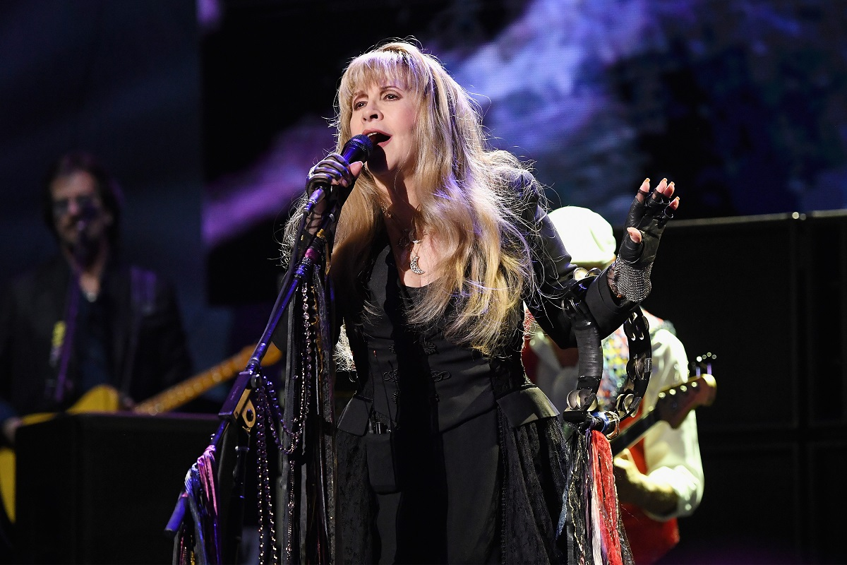 Stevie Nicks of Fleetwood Mac performs onstage during Fleetwood Mac In Concert at Madison Square Garden on March 11, 2019 in New York City.