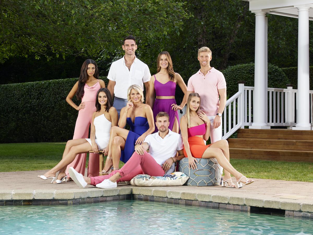 Jules Daoud, Paige DeSorbo, Carl Radke, Lindsay Hubbard, Luke Gulbranson, Hannah Berner, Amanda Batula, Kyle Cooke season 4 cast of  'Summer House'