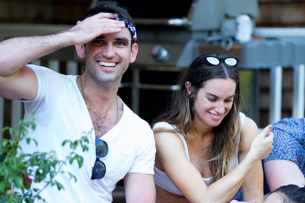 Carl Radke, Hannah Berner sit together on 'Summer House'