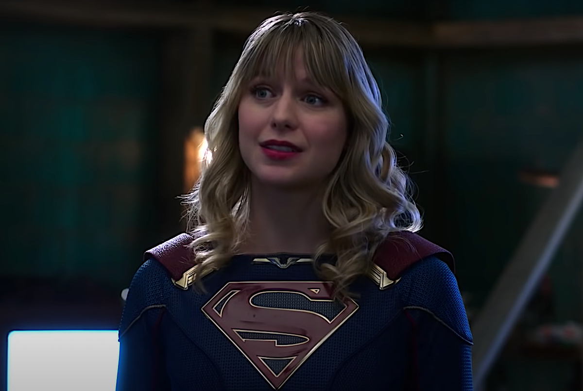 Melissa Benoist in 'Supergirl' on The CW