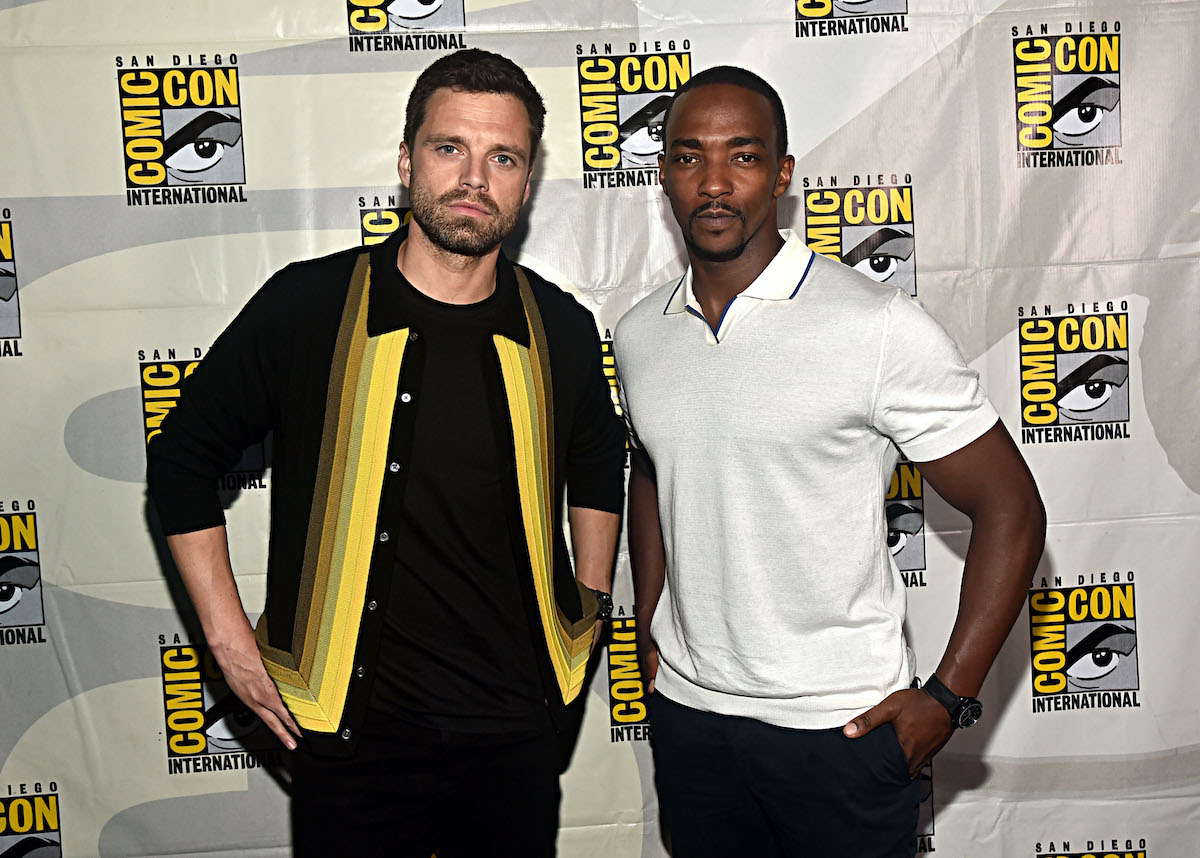 'The Falcon and the Winter Soldier' stars Sebastian Stan and Anthony Mackie at San Diego Comic-Con