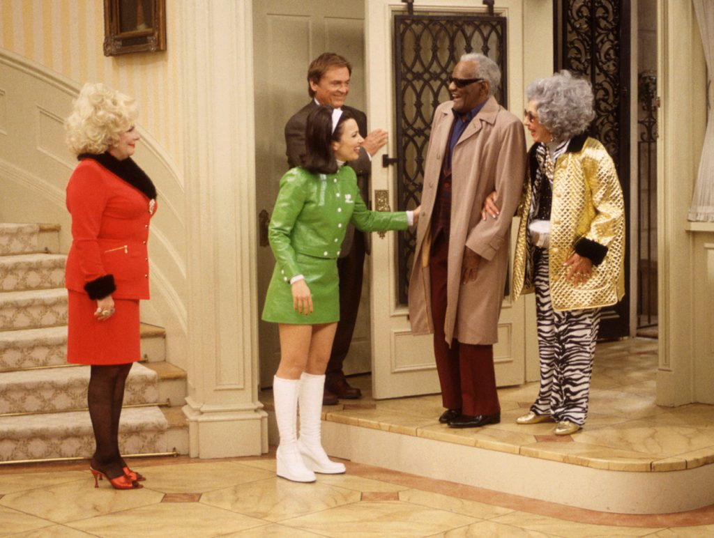 "THE NANNY, episode: ""Fair Weather Fran"" . 