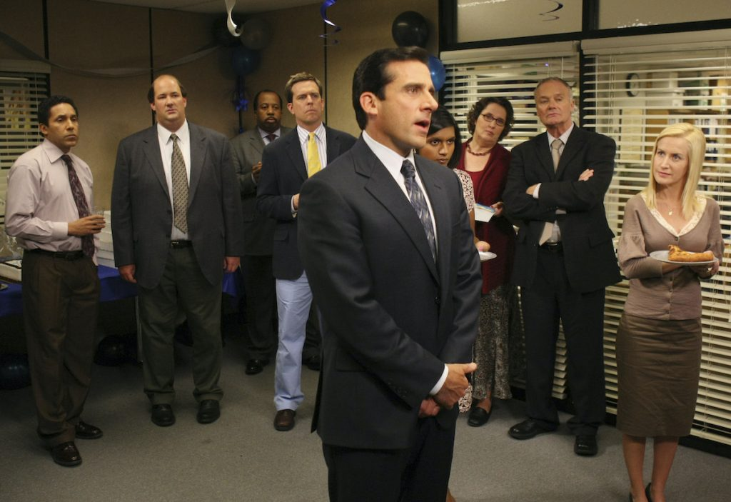 'The Office' cast in 2007