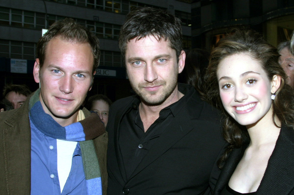 Patrick Wilson, Gerard Butler, and Emmy Rossum at The Phantom of The Opera Window and Live Concert