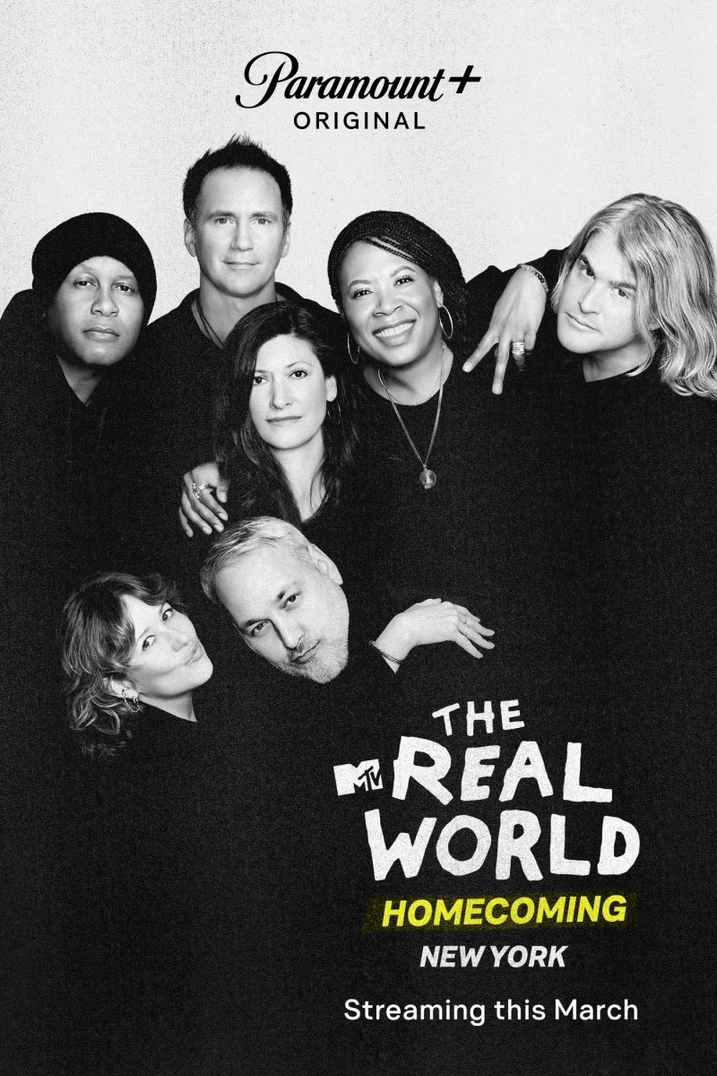 Becky Blasband, Andre Comeau, Heather B. Gardner, Julie Gentry, Norman Korpi, Eric Nies and Kevin Powell from 'The Real World Homecoming: New York'