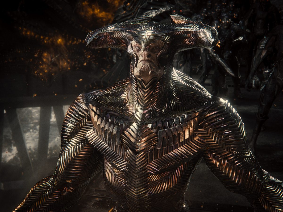 The Snyder Cut's redesigned Steppenwolf