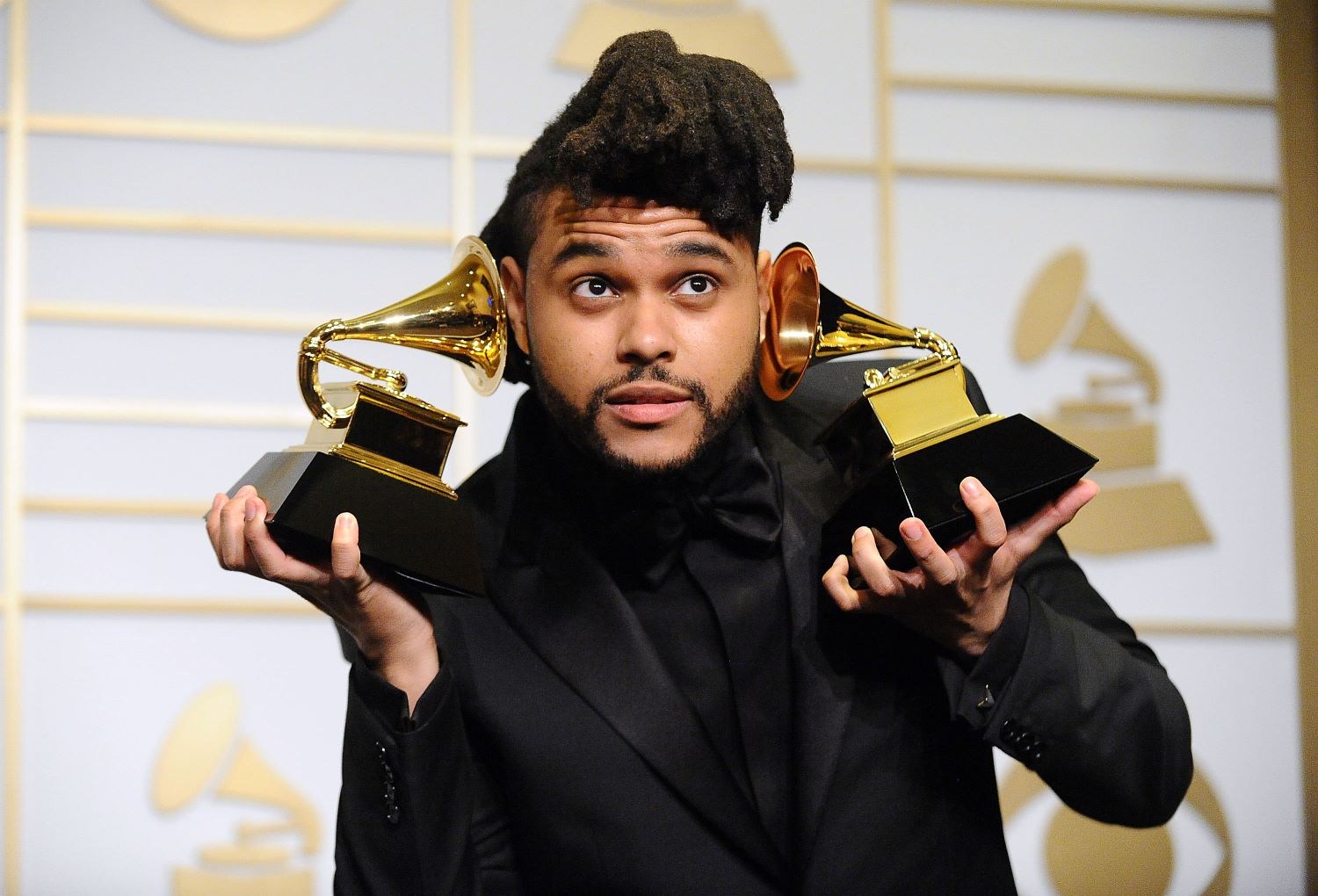 The Weeknd at the 2016 Grammy Awards