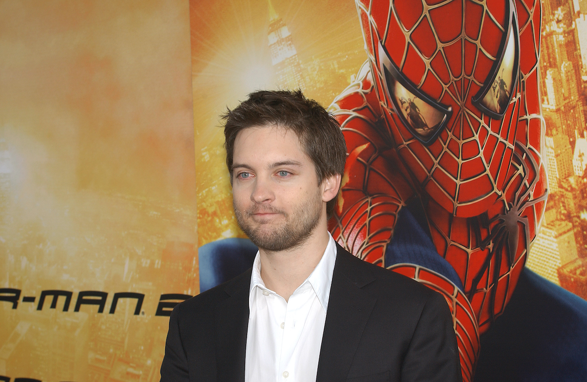Tobey Maguire at the 'Spider-Man 2' premiere