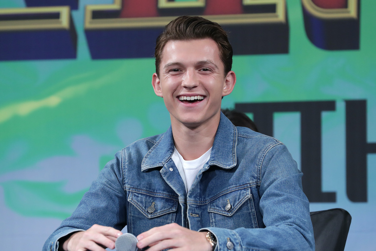 Tom Holland at the 'Spider-Man: Far From Home' Seoul premiere