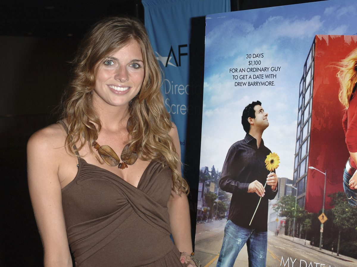 Television personality Trishelle Cannatella attends the premiere of 'My Date With Drew'